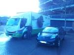 Celtic Linen EV Truck